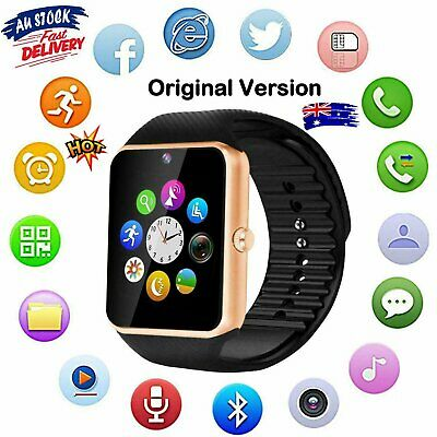 AU19.16 • Buy Children Kids Adult Smart Watch Bluetooth GSM Phone SIM TF Card For IOS Android~