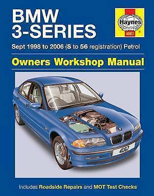 Haynes BMW 3-Series Service And Repair Manual Hardback • 6.50£