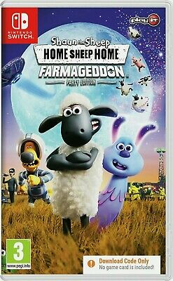 Shaun The Sheep: Home Sheep Home Nintendo Switch Game BRAND NEW AND SEALED ⭐⭐⭐⭐⭐ • 19.99£
