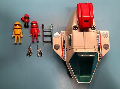 1980 Playmobil Space Shuttle  Rf-y-162 Playmospace With People And Accessories  • 15.15£
