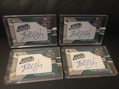 $ CDN377.64 • Buy 2019 Panini Instant Access Darrell Henderson Rookie Auto Patch Ssp#/5 Rams Lot(4