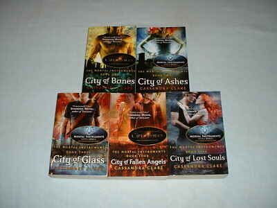 THE MORTAL INSTRUMENTS CITY OF Set Of Books 1-5 Paperback Novels CASSANDRA CLARE • 6.99£