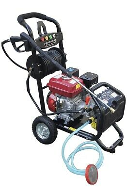Petrol Pressure Washer - 8.0HP 3950psi AWESOME POWER T-MAX PRO 28 METER HOSE • 310£