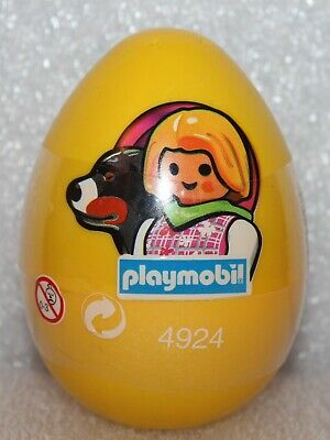 Playmobil 4924 Easter Egg Woman With Dog Promotional Figure New/Boxed (D ? ) • 17.98£