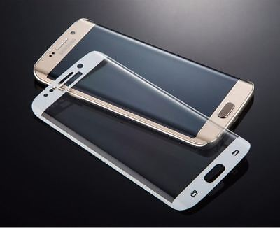 $ CDN4.82 • Buy 3d Curved Full Tempered Glass Screen Protector White For Samsung Galaxy S7 Edge