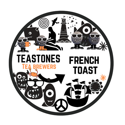 French Toast Black Tea With Sweet Cinammon • 6.50£