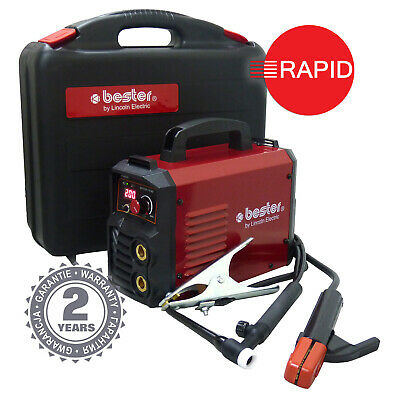 Lincoln Bester 210-ND Arc Welder Package, With TIG Torch 230v, 2 Year Warranty • 298£