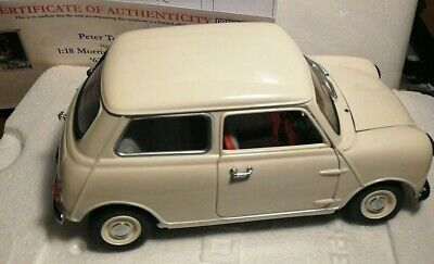 £170 • Buy Kyosho 1:18 Morris Mini Minors WHITE 08105W Peter Tothill 'LIMITED 100 Examples'