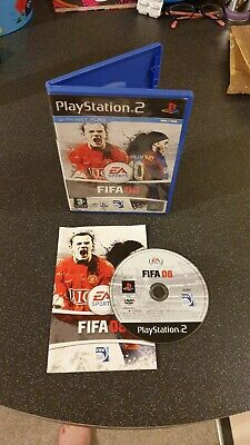 FIFA 08 (2007) PS2   FREE POSTAGE  Vintage Game,  • 3.99£