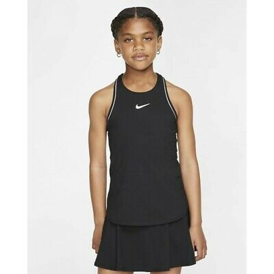 £19.99 • Buy Youth Girls Nike Court Tennis Tank.    Size Small. 8-10yrs.   AR2502-010 @