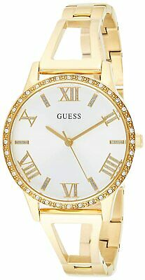$ CDN76.11 • Buy Guess Women's Lucy W1208L2 34mm Silver Dial Stainless Steel Watch