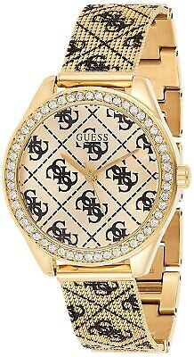 $ CDN137.13 • Buy Guess Women's Claudia W1279L2 36.5mm Gold Dial Stainless Steel Mesh Watch