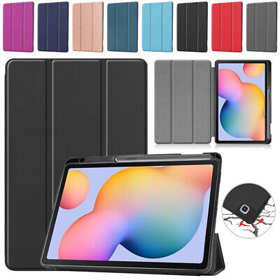 AU22.99 • Buy Colorful Cover Case With Pen Slot For Samsung Galaxy Tab S6 Lite 10.4  P610/P615