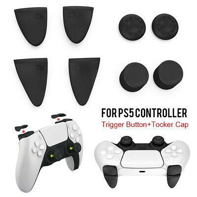 AU7.99 • Buy Joystick Grips Thumb Cover Trigger Extender Accessories For PS5 PS4 Controller