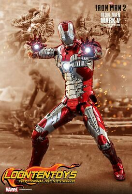 $ CDN507.85 • Buy Hot Toys 1/6 MMS400D18 - Iron Man 2 - Iron Man Mark V MK5 Reissue