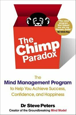 The Chimp Paradox The Mind Management Program To Help You Achie... 9780399163593 • 15.12£