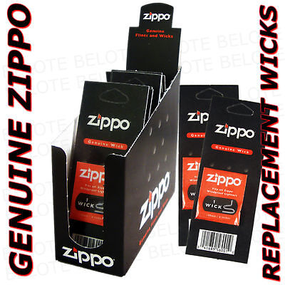 $17.58 • Buy Genuine Zippo Replacement Wick 24 Pack Wicks 2425 USA MADE Free Shipping NEW