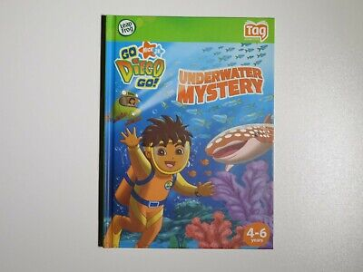 £6.49 • Buy LEAPFROG TAG BOOK: GO DIEGO GO Underwater Mystery FUN READING LEARNING BOOK
