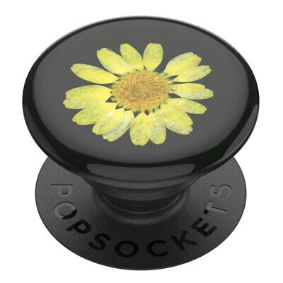 AU19.95 • Buy Popsockets Press Flower Yellow Daisy Gen2 Universal Swappable PopGrip For Phones
