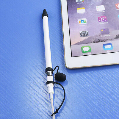Silica Protective Cap Holder+ Cable Tether+ Tip Cover For Apple Pencil Black • 4.02£