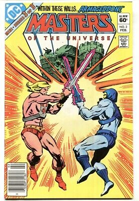 $35 • Buy Masters Of The Universe #3  HE-MAN Newsstand DC Comic Book 1982