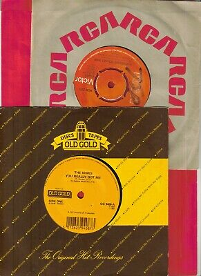 THE KINKS – You Really Got Me – 7  Vinyl (Old Gold + SUPERSONIC ROCKET SHIP • 4.99£