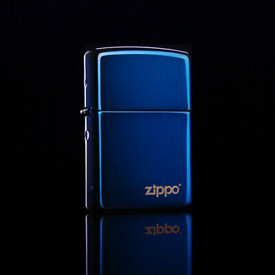AU29 • Buy Brand New Zippo Lighter Case Classical Blue Ice