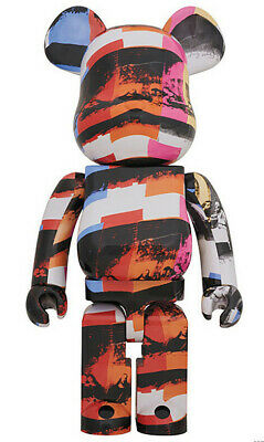 $1200 • Buy Bearbrick Andy Warhol The Last Supper 1000% By Medicom Toy Collectible Figurine