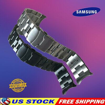$ CDN14.28 • Buy 20-22mm Curved Stainless Steel Solid Bracelet Watch Strap Fit For Seiko SKX007