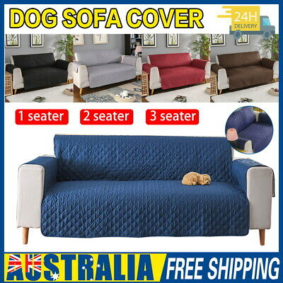 AU21.47 • Buy Sofa Cover 1/2/3 Seater Waterproof Couch Lounge Protector Slipcovers Pet Dog