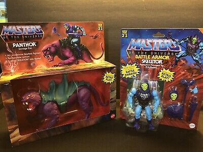 $100 • Buy 2021 Masters Of The Universe Ultimate SKELETOR & PANTHOR SAVAGE CAT