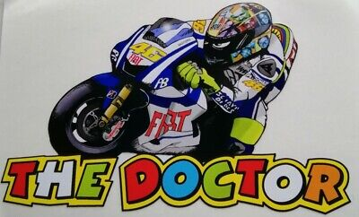VALENTINO ROSSI The Doctor Decal Sticker  New Stickers  • 3.35£