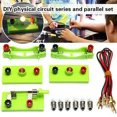 AU14.49 • Buy DIY Science Toys School Electric Circuit Kits Montessori Learning Experiment Kit