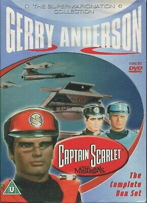 Captain Scarlet And The Mysterons - Supermarionation Collection - Uk R2 New • 16.95£