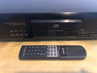 SONY CDP - XE 900E (CD Player & Remote Control) • 100£