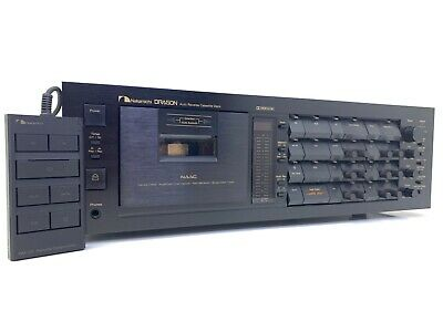 AU7091.08 • Buy Nakamichi DRAGON 3 Head Car Reverse Cassette Vintage 1982 With Remote Like New