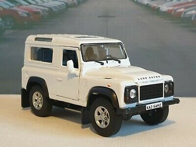 New Boys Toys Land Rover Defender White 4' Personalised Model Present Birthday  • 7.89£