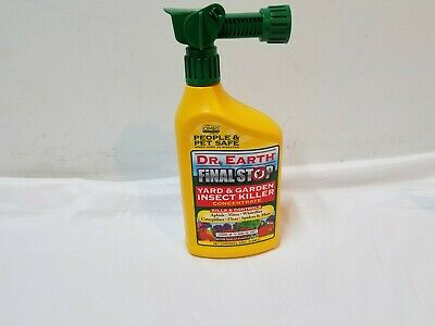 £16.46 • Buy Dr. Earth Final Stop 32 Oz Yard & Garden Insect Killer Concentrate Pet Safe
