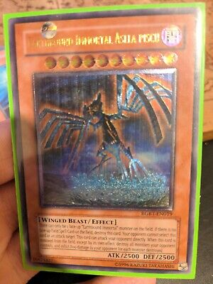 Yugioh Earthbound Immortal Aslla Piscu RGBT-EN019 Ultimate Rare • 27.50£