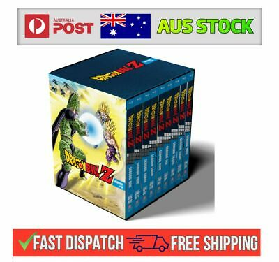AU299.95 • Buy DRAGON BALL Z Complete Series Season 1 2 3 4 5 6 7 8 9 BLU RAY Box Set SEALED