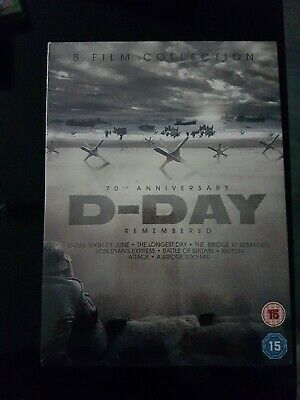 D-Day Remembered (8 Classic War Films) DVD Boxset New And Sealed  • 6.80£