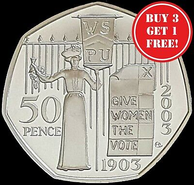 £7.99 • Buy 1972 - 2021 Elizabeth II 50p Fifty Pence PROOF Coin - Choose Your Year