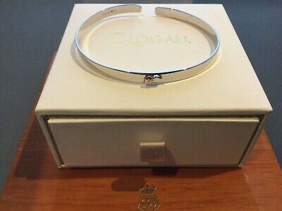 Clogau Silver And Rose Gold Bangle - Ex Shop Stock • 95£