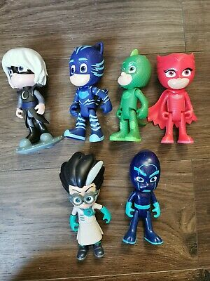 PJ Mask Set Of 6 Talking Figures • 15£