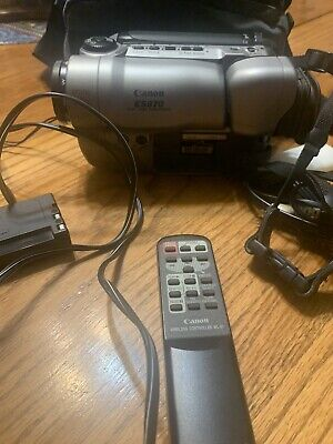 $ CDN95.69 • Buy Canon ES870 8mm Stereo Camcorder Camera VCR Player Video . No Battery Or Tested