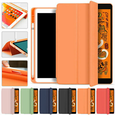 AU24.99 • Buy PU Smart Cover Case Stand Pencil Holder For Ipad 10.2/Pro 10.5/Air 4 10.9 2020