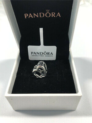 ALE S925 Genuine Silver Pandora Love You Mum Infinity Heart Charm With Gift Box • 16.99£