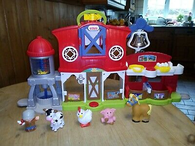 Fisher Price Little People Caring For Animals Farm • 11.50£