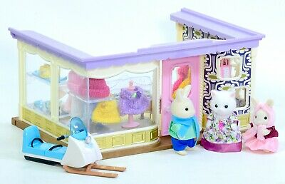 *fistuff* Sylvanian Families Decorated Boutique New Clothes Figures BOXED Skidoo • 69.99£
