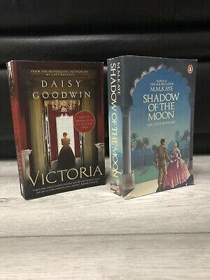 £4.99 • Buy Daisy Goodwin VICTORIA Plus M.M Kaye SHADOW OF THE MOON Paperback Books X2